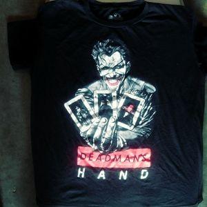 Joker dead man's hand awesome shirt